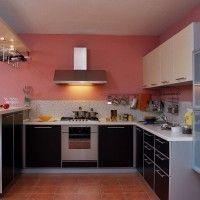 угловые кухни с барной стойкой в стиле модерн фото