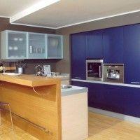 кухонные гарнитуры с барной стойкой фото