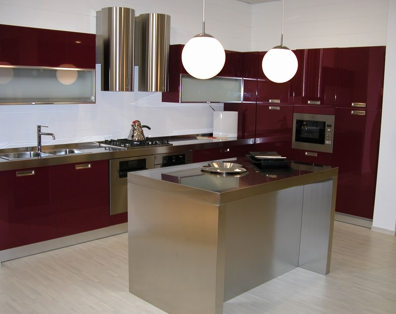 кухонные гарнитуры с островом фото