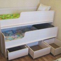 детские раздвижные кровати с бортиками