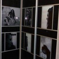 угловой шкаф-купе фотопечать черно-белые фото