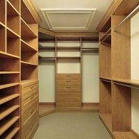 дизайн гардеробной комнаты из лдсп