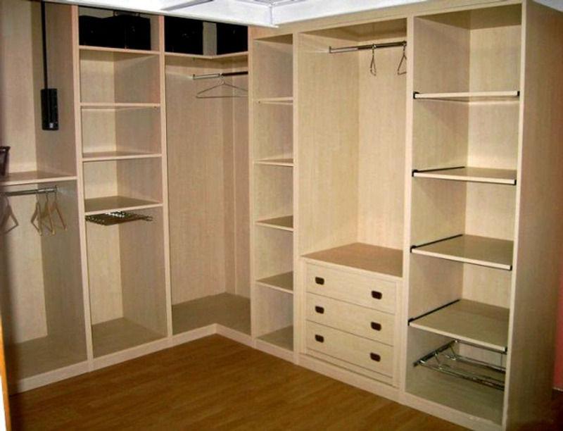 Угловые гардеробные комнаты фото
