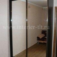 фото шкафов купе с зеркальными дверями