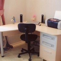 стол письменный угловой фото