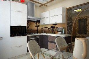 кухонные гарнитуры с фотопечатью фото