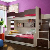 детские двухъярусные кровати фото