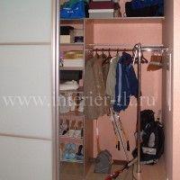 гардеробная комната наполнение фото