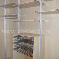 маленькие гардеробные комнаты фото