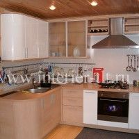 кухонные гарнитуры в светлых тонах
