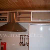 глянцевые белые кухонные гарнитуры