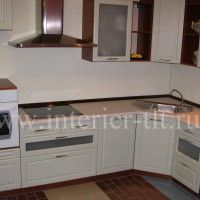кухонные гарнитуры белые фото