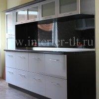 кухонные гарнитуры фото черно белые