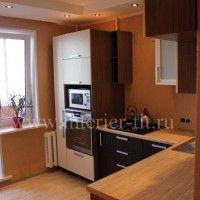 встроенный шкаф на кухне