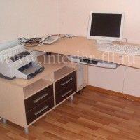 стол офисный с тумбой