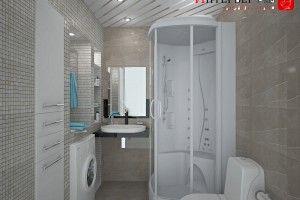 дизайн ванной комнаты хрущевка фото
