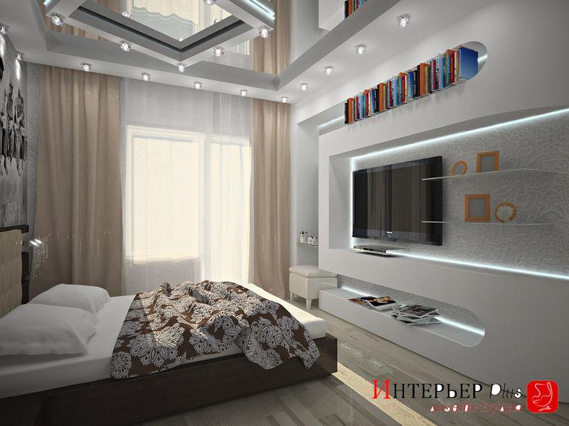 Дизайн интерьера спальни хрущевок