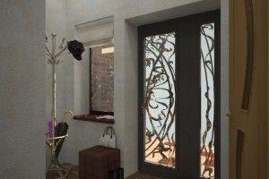 дизайн прихожей в частном дом