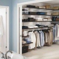 гардеробная комната п образная