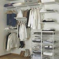 системы хранения для гардеробных aristo
