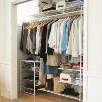 elfa гардеробные комнаты