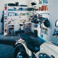 металлические системы хранения вещей в гараже