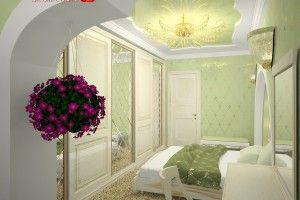 спальня с балконом дизайн фоо