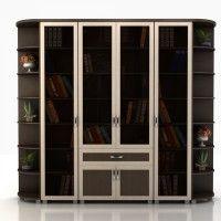 книжные шкафы фото