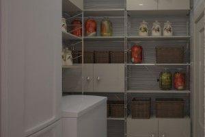 дизайн кухни с кладовкой