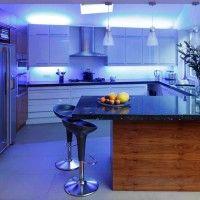 светодиодная подсветка поверх шкафов