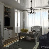 дизайн белого зала