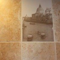 плитка венеция в дизайне ванной