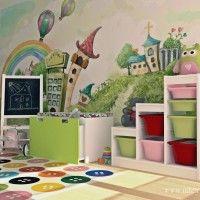 как организовать хранение игрушек в детской