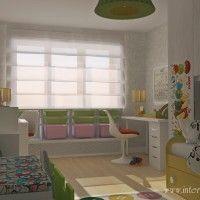хранение под окном в детской