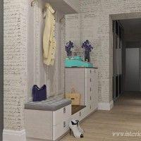 дизайн коридора со шкафом