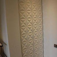 шкаф в прихожую с 3D дверями