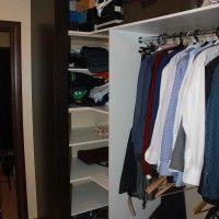 шкаф гардероб с фальш панелями