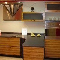 кухонные гарнитуры зебрано фото