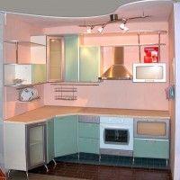 угловые кухни для хрущевок фото