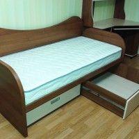 кровать для подростка с ящиками