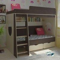 детские 2 ярусные кровати