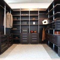 гардеробная комната венге