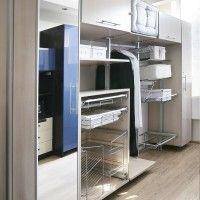 комбинированная гардеробная комната