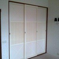 встроенный шкаф купе 4 двери в стиле прованс