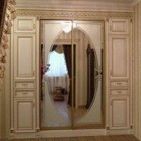 комбинированный шкаф купе 4 двери в классическом стиле