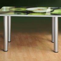 фото кухонных столов с фотопечатью