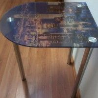 кухонный стол фото печать