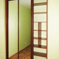 встроенный шкаф купе 2 зеркальные двери фото