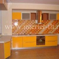 кухонные гарнитуры фото оранжевые