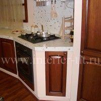 угловые кухонные гарнитуры классика фото